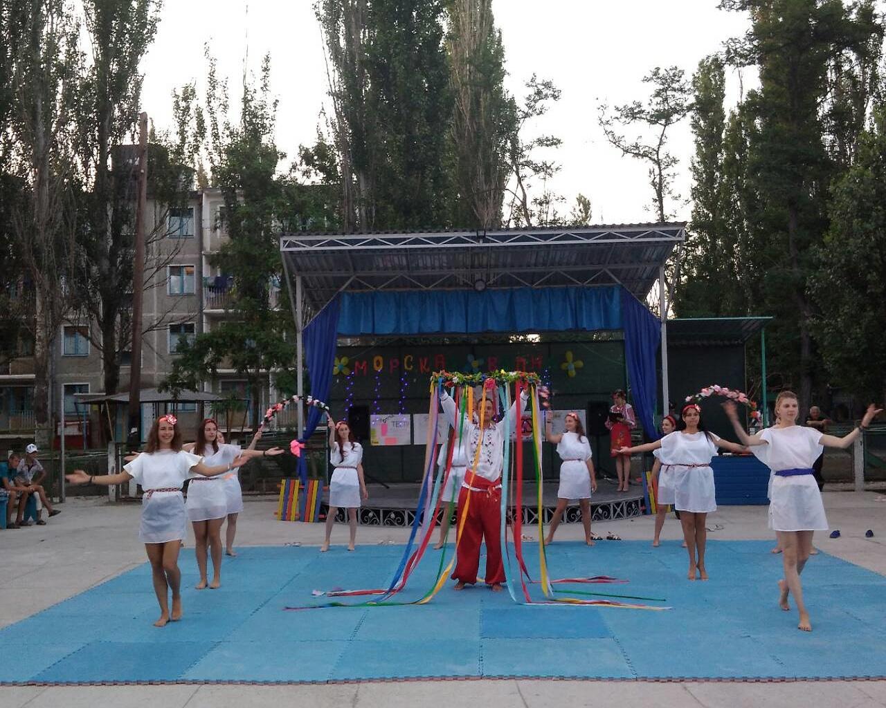 Открытие смены «З Україною в серці»