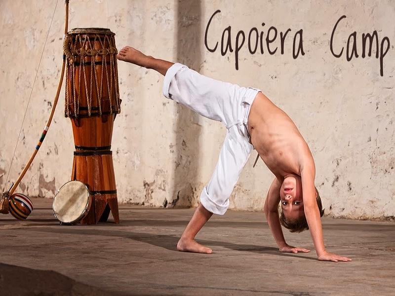 """(Рус.) «Capoeira camp» в лагере """"Морская Волна"""""""